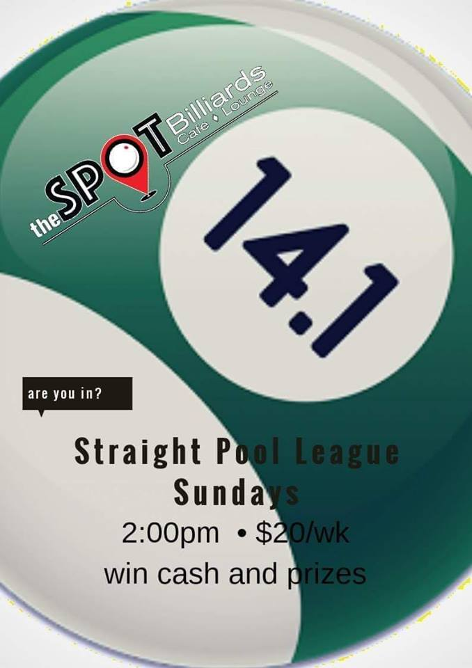 Leagues – The SPOT Billiards Cafe and Lounge